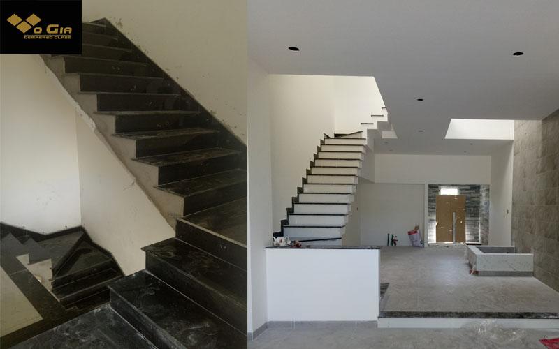 các bước lắp đặt cầu thang kính đúng chuẩn đúng khoa học giúp cầu thang có độ chính xác và khoa học