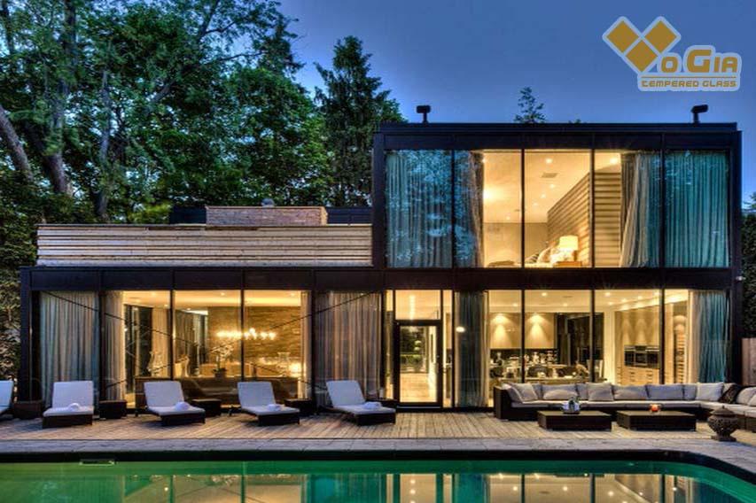 Công ty mang đến cho khách hàng những ngôi nhà từ kính cường lực với kiến trúc độc đáo, sáng tạo