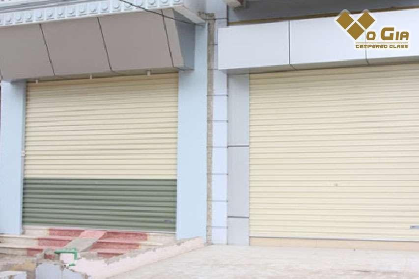 Tại Đà Nẵng, cửa cuốn được sử dụng khá phổ biến