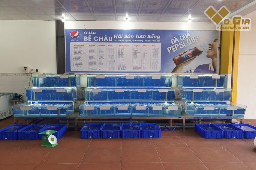 Địa chỉ thi công hồ hải sản chất lượng cao tại Đà Nẵng