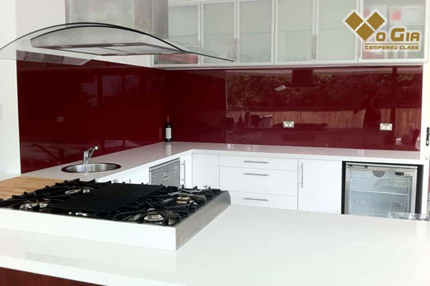 Kính ốp bếp Sơn Trà - xu hướng thiết kế nội thất. kính ốp bếp đà nẵng
