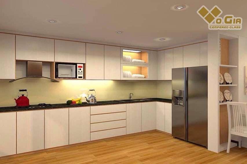 Kính ốp bếp được nhiều người ưa chuộng hiện nay kính ốp bếp Đà Nẵng