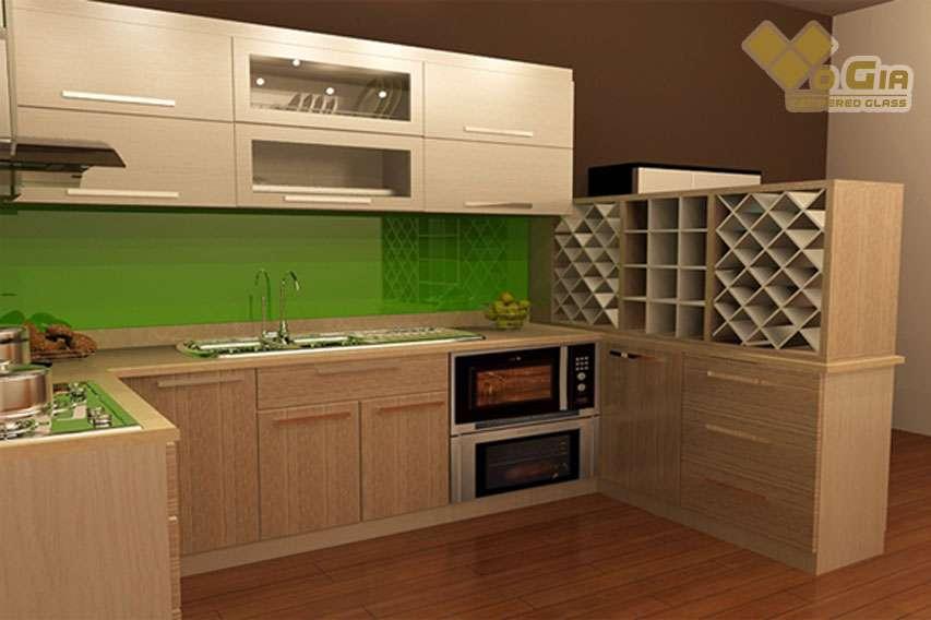 Tủ bếp gỗ công nghiệp MFC