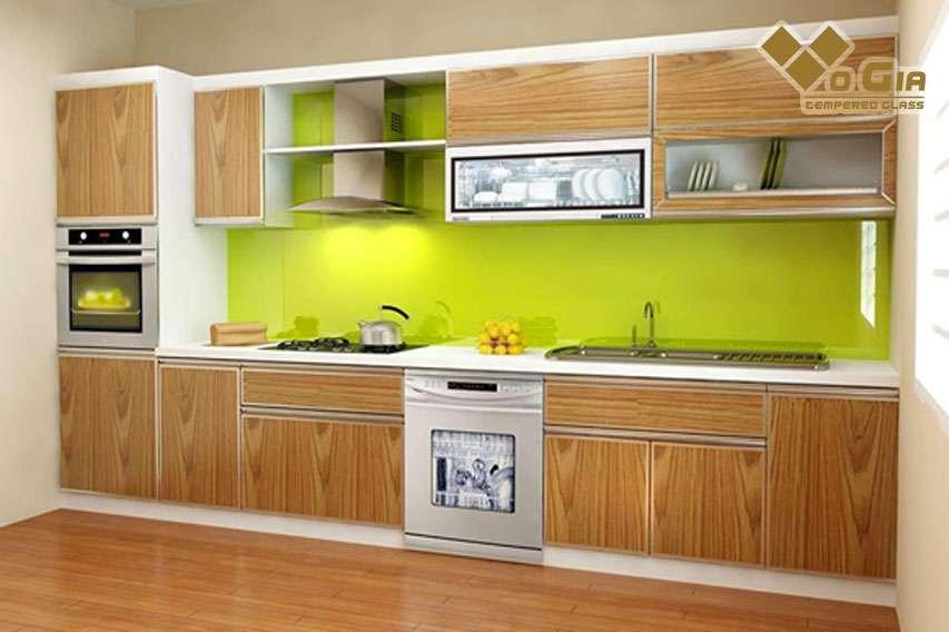 Tủ bếp gỗ nhựa Laminate