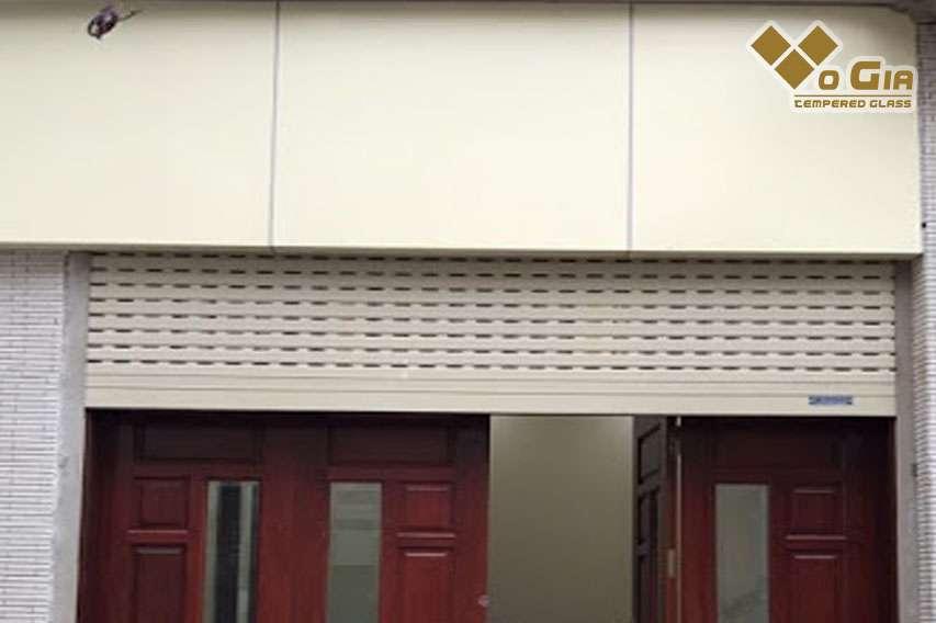 Thiết kế cửa cuốn thông minh