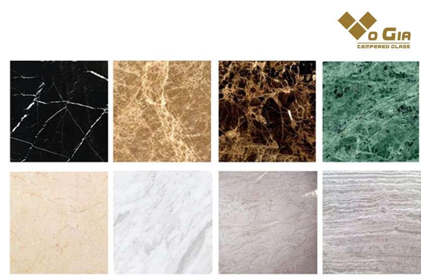 Đá hoa cương Granite nhiều màu sắc và kiểu dáng vân đá