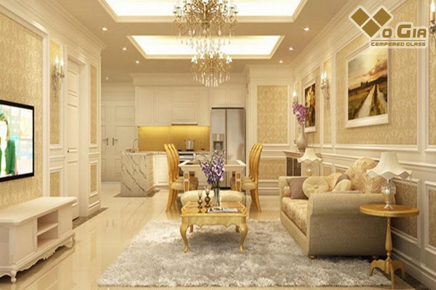 Xu hướng thiết kế nội thất tân cổ điển