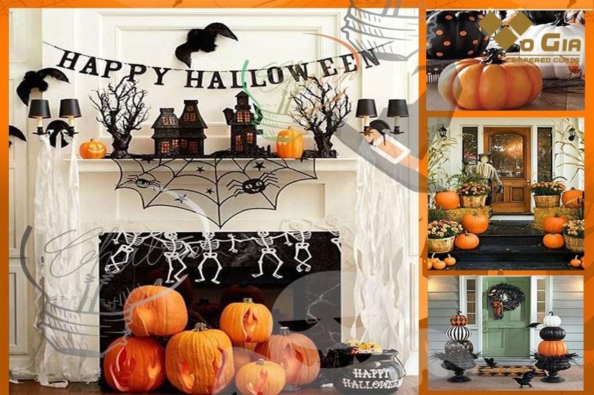 Dịch vụ sở hữu đa dạng nhiều mẫu thiết kế hiện đại. trang trí shop ngày halloween