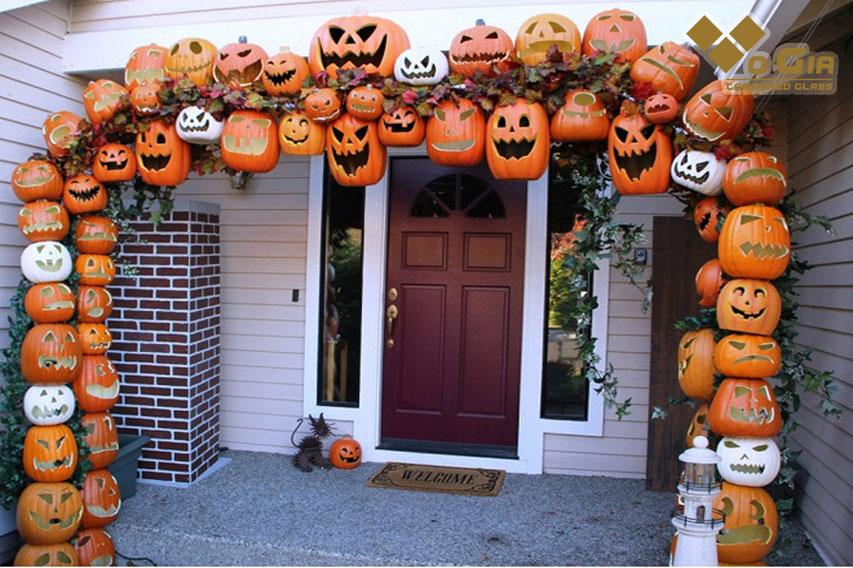 Trang trí Halloween độc là, thu hút người tiêu dùng mua sắm