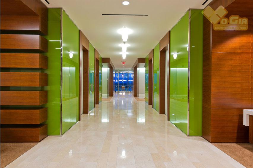Võ Gia Group - đơn vị phân phối kính cường lực xanh lá cây chất lượng