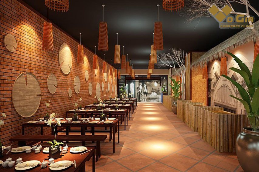 Phong cách nhà hàng là một trong những tiêu chí hút khách hàng đầu