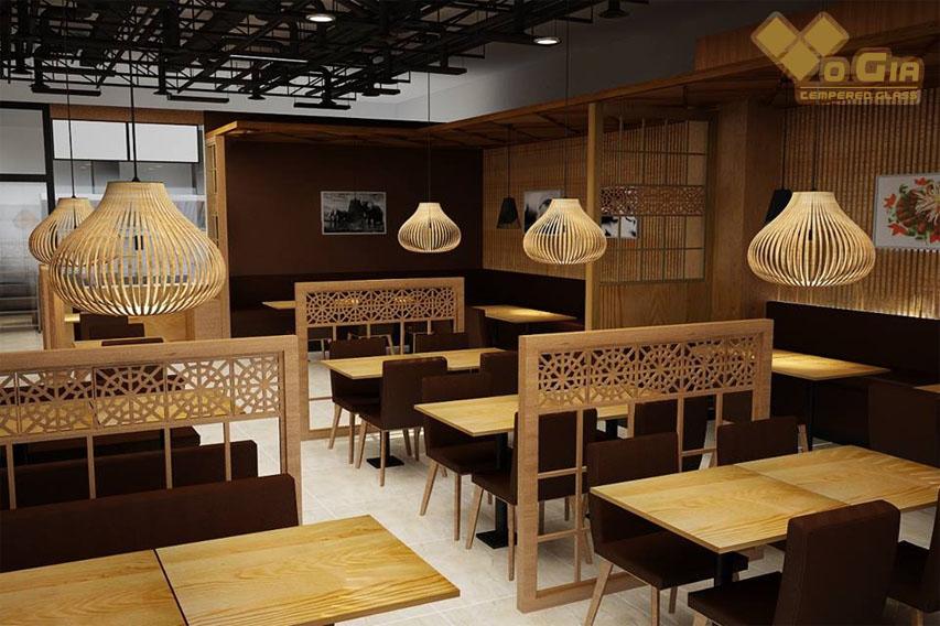 Có nhiều phong cách trang trí nhà hàng đang phổ biến hiện nay